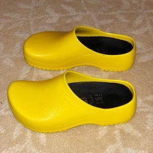 Birkenstock Pro Clog - Unisex, Yellow NWOTags/box